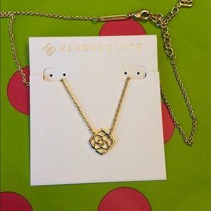 Kendra Scott Decklyn necklace gold